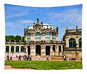 Zwinger Palace - Dresden Germany Tapestry