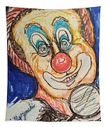 Happy Clown Tapestry