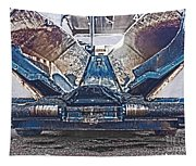 Asphalt Paver Tapestry