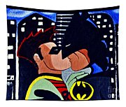 Batman And Robin Tapestry