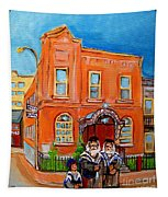 Beautiful Synagogue On Bagg Street Tapestry