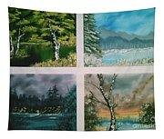 Colors Of Landscape Tapestry