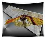 Eastern Amber Dragonfly 3d Tapestry
