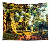 Green Summer-the Oak Forest Tapestry