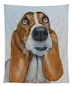 Hound Dog Eyes Tapestry