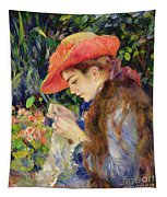 Marie Therese Durand Ruel Sewing Tapestry