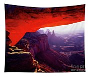 Mesa Arch Sunrise 3 Tapestry