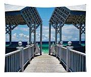 Oceanfront Pavilion Tapestry