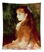 Portrait Of Mademoiselle Irene Cahen D'anvers Tapestry