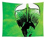Rhino Animal Decorative Green Poster 6 - By  Diana Van Tapestry