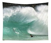 Sandy Beach Shorebreak Tapestry