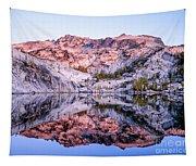 Leprechaun Lake Sunrise Tapestry