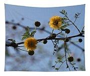Yellow Minosa Tapestry