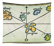 Azores, 1528 Tapestry