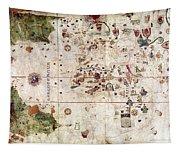 Nina: World Map, 1500 Tapestry