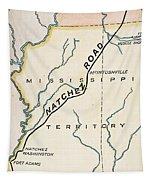 Natchez Trace, 1816 Tapestry