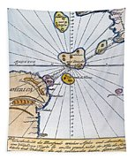 Traces Of Atlantis Tapestry