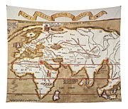 Waldseemuller: World Map Tapestry