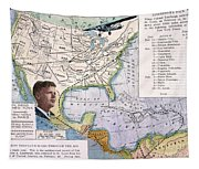 Charles Lindbergh Tapestry