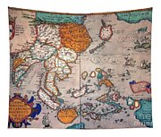 Pacific Ocean/asia, 1595 Tapestry