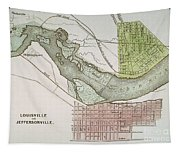 Jeffersonville, Indiana: Map Tapestry