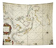 Map: East Indies, 1670 Tapestry