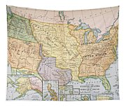 Map: U.s. Expansion, 1905 Tapestry