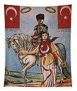 Republic Of Turkey: Poster Tapestry