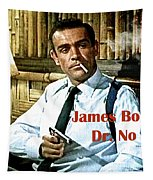 007, James Bond, Sean Connery, Dr No Tapestry