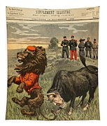 Boer War Cartoon, 1899 Tapestry