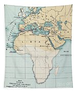 Map: Phoenician Empire Tapestry