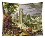 Roman Forum, 16th Century Tapestry