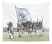 1812 Soldiers Tapestry