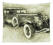 1928 Duesenberg Model J 3 - Automotive Art - Car Posters Tapestry