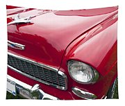 1955 Chevrolet Bel Air Hood Ornament Tapestry