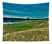 #2 At Chambers Bay Golf Course Tapestry