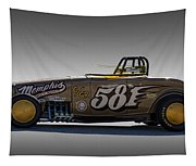581 Bonneville Race Car Tapestry