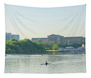 A Day On The River - Philadelphia Tapestry