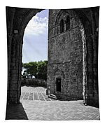 A Gothic View Tapestry