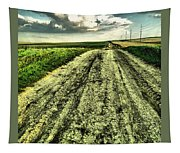 A Long Gravel Road Tapestry