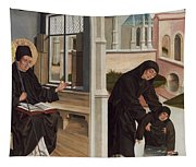 A Miracle Of Saint Benedict Tapestry