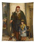 A Poor Beggar Bodie Tapestry