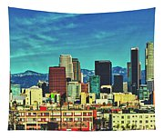 A Slice Of Los Angeles Tapestry