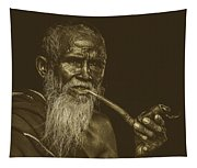 A Smoke Before Conversation Tapestry