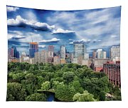 A Summer Day In Boston Tapestry