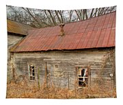 Abandoned Farmhouse In Kentucky Tapestry