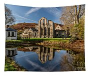 Abbey Reflection Tapestry