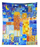 Abstract City Tapestry