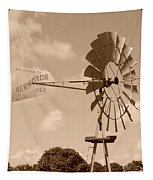 Aermotor Windmill Tapestry