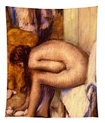 After The Bath Tapestry by Edgar Degas